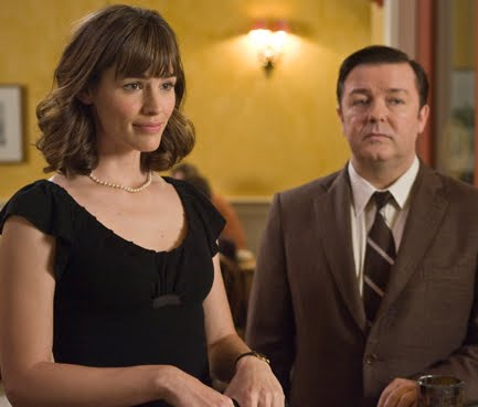 Jennifer Garner and Ricky Gervais in 'The Invention of Lying.'