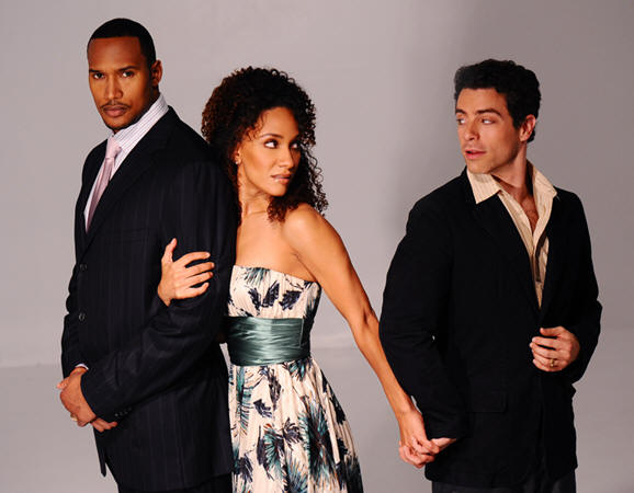 Henry Simmons, Sophina Brown and Rick Wasserman in 'Betrayal.'