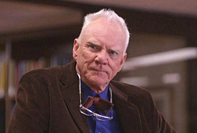 Malcolm McDowell stars in POUND OF FLESH.