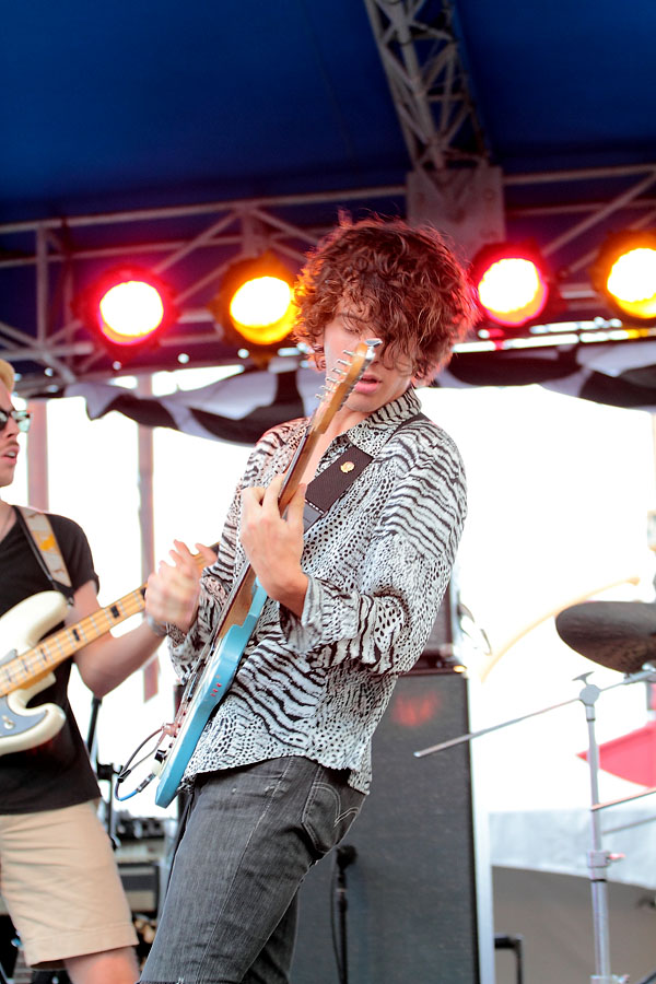 Oberhofer - The 4Knots Music Festival - South Street Seaport - New York, NY - July 16, 2011 - photos by Mark Doyle � 2011