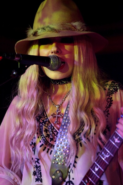 Orianthi - The Marlin Room at Webster Hall - New York, NY - July 17, 2013 - photo by Mark Doyle � 2013