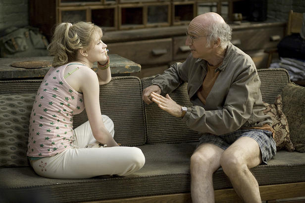 Evan Rachel Wood and Larry David in 'Whatever Works.'