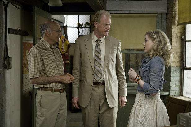 Larry David, Ed Begley, Jr. and Evan Rachel Wood in 'Whatever Works.'