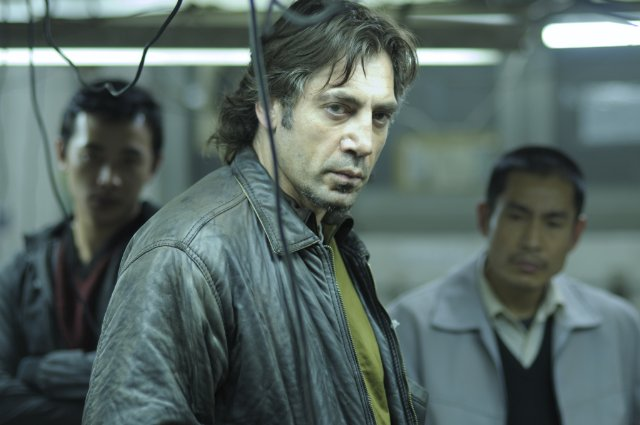 Javier Bardem in BIUTIFUL.