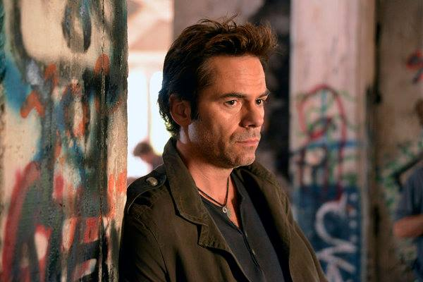 "REVOLUTION -- ""The Children's Crusade"" Episode 107 -- Pictured: Billy Burke as Miles Matheson -- (Photo by: Brownie Harris/NBC)"