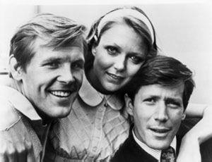 Rich Man, Poor Man: (l to r) Nick Nolte, Susan Blakely and Peter Strauss