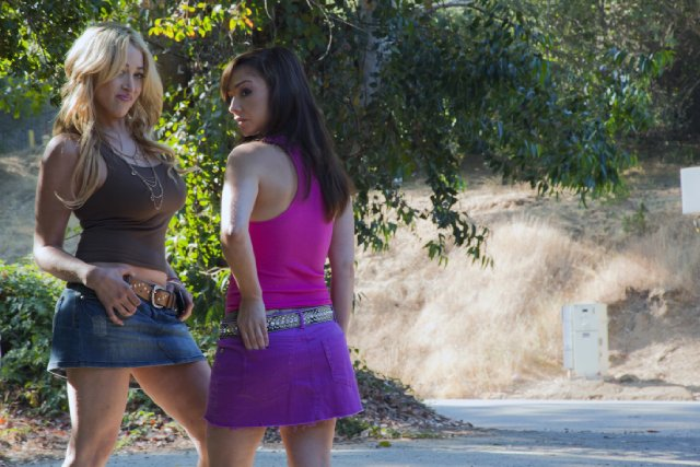Jennifer Blanc and Danielle Harris star in THE VICTIM.