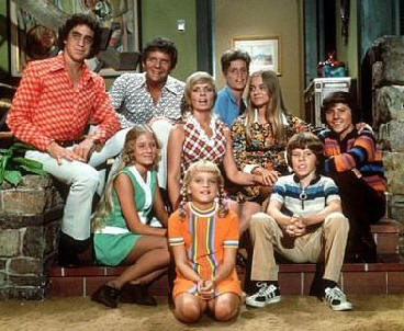 The cast of 'The Brady Bunch' circa 1974.
