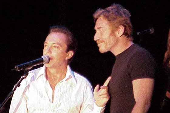 David Cassidy and Danny Bonaduce