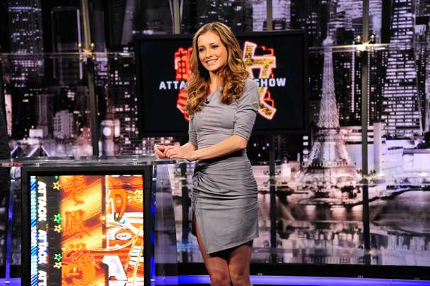 "Candace Bailey, co-host of G4's ""Attack of the Show."""