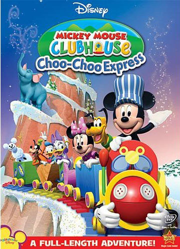 Mickey Mouse Clubhouse Choo-Choo Express on DVD