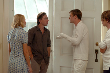 Naomi Watts, Tim Roth, Michael Pitt and Brady Corbet in 'Funny Games.'