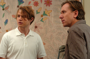 Brady Corbet and Tim Roth in 'Funny Games.'