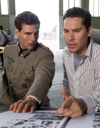 Tom Cruise and Bryan Singer discuss the filming of 'Valkyrie.'
