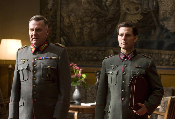 Tom Wilkinson and Tom Cruise in 'Valkyrie.'