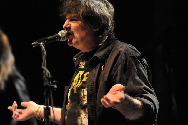 Burton Cummings - The Keswick Theater - Glenside, PA - January 18, 2012 - photo by Jim Rinaldi � 2012