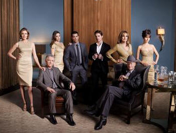 Brenda Strong, Patrick Duffy, Julie Gonzalo, Jesse Metcalfe, Josh Henderson, Linda Gray, Larry Hagman and Jordana Brewster star in DALLAS.