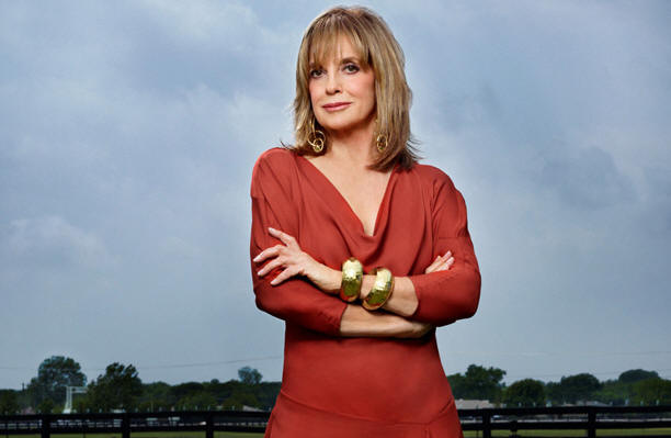 Linda Gray stars in DALLAS.