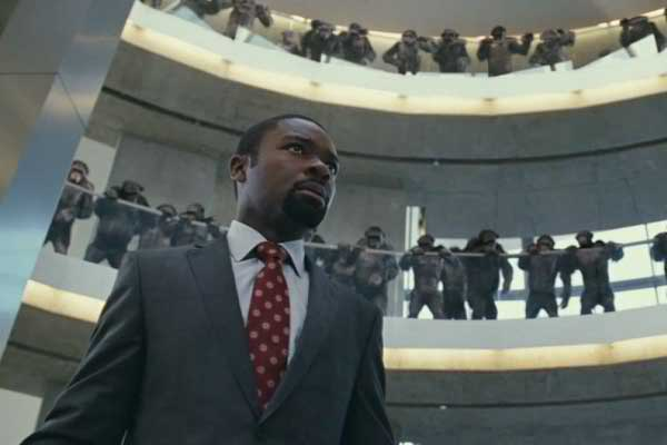 David Oyelowo in RISE OF THE PLANET OF THE APES