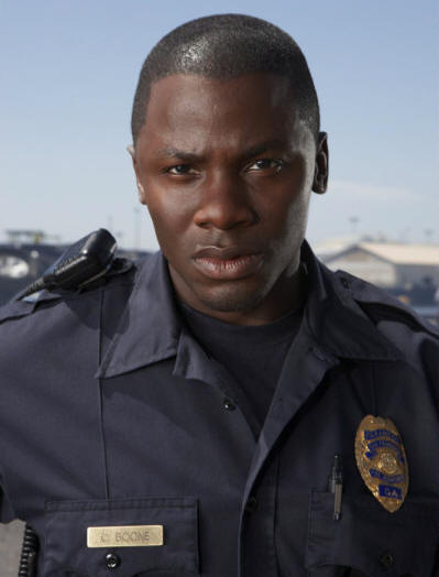 TRAUMA -- Pictured: Derek Luke as Cameron Boone -- NBC Photo: Michael Muller