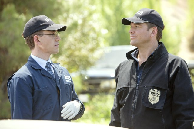 "Brian Dietzen and Michael Weatherly star in ""NCIS"""