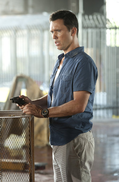 "BURN NOTICE -- ""Desperate Measures"" -- Pictured: Jeffrery Donovan as Michael Weston -- (Photo by Glenn Watson/USA Network)"