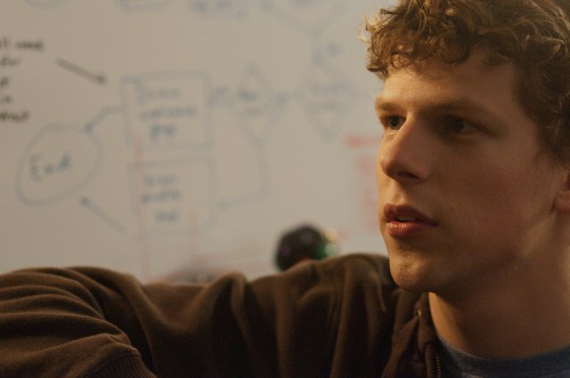 Jesse Eisenberg stars in THE SOCIAL NETWORK.