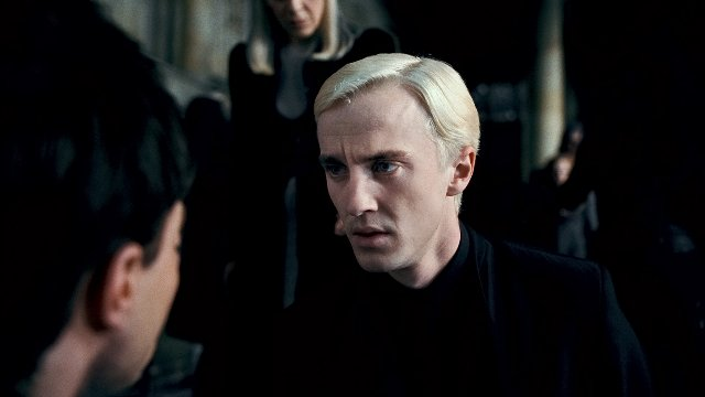 Tom Felton as Draco Malfoy in HARRY POTTER AND THE DEADLY HOLLOWS - PART 2.