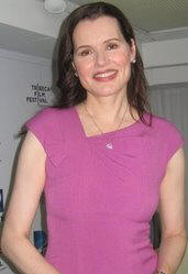 Geena Davis at the 'Accidents Happen' screening at the Tribeca Film Festival.