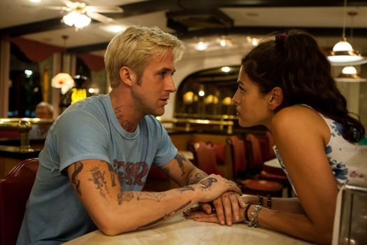 "Ryan Gosling and Eva Mendes in ""The Place Beyond the Pines"""