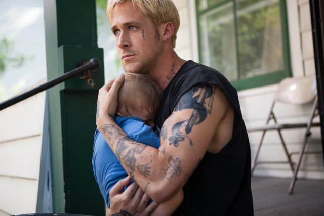 "Ryan Gosling and Tony Pizza in ""The Place Beyond the Pines"""
