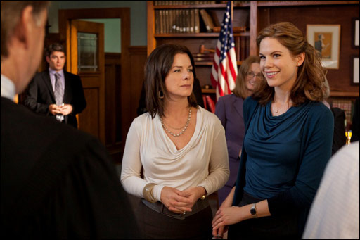 Bill Pullman, Marcia Gay Harden and Mariana Klaveno star in the TNT Mystery Movie 'Scott Turow's Innocent.'