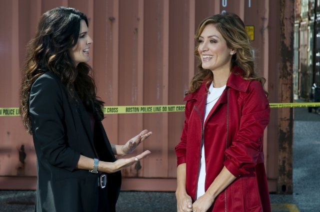Angie Harmon and Sasha Alexander star in the TNT series 'Rizzoli and Isles' based on the popular mystery novels by Tess Gerritsen.