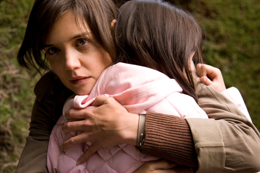 Katie Holmes and Bailee Madison in the film 'Don't Be Afraid of the Dark.'