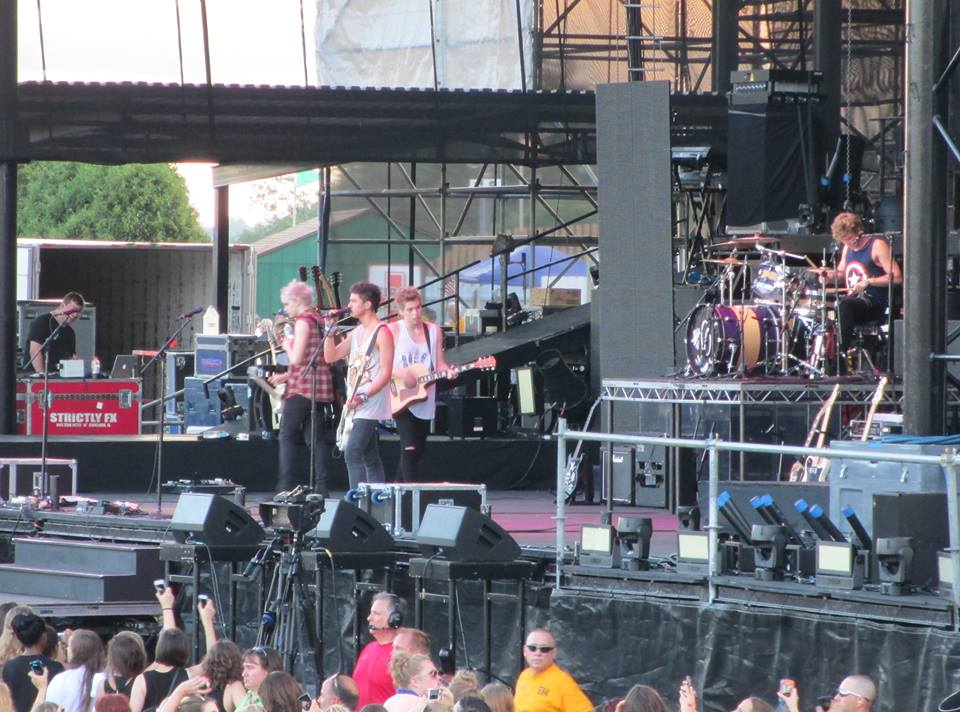 5 Seconds of Summer - Hersheypark Stadium - Hershey, PA - July 5, 2013 - photo by Deborah Jacobs Wagner � 2013