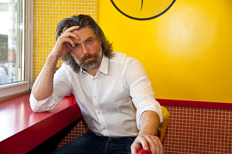 "Anson Mount of ""Hell On Wheels"" in New York City, August 4, 2013. Photo � 2013 Mark Doyle."
