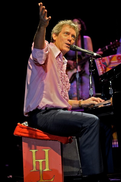 Hugh Laurie with the Copper Bottom Band - Keswick Theater - Glenside, PA - October 30, 2013 - photo by Jim Rinaldi � 2013