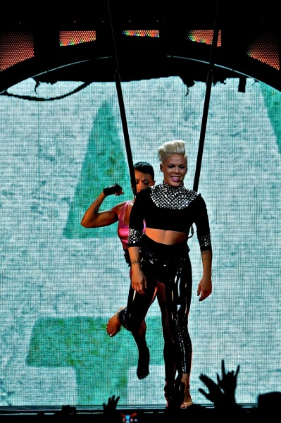 P!nk - Wells Fargo Center - Philadelphia, PA - December 6, 2013 - photo by Jim Rinaldi � 2013