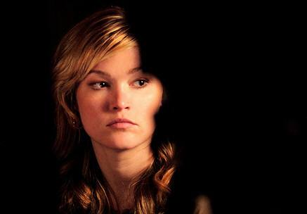 "Julia Stiles stars in ""Between Us."""