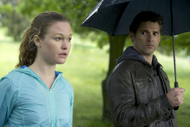 "Julia Stiles and Eric Bana star in ""Closed Circuit."""