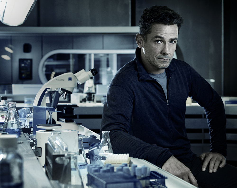 HELIX -- Season:1 -- Pictured: Billy Campbell as Alan Farragut -- (Photo by: Justin Stephens/Syfy)