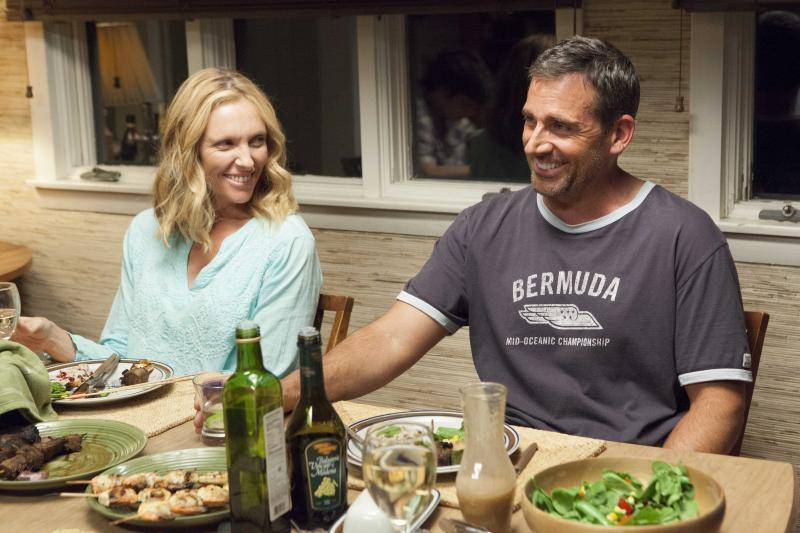 "Toni Collette and Steve Carell star in ""The Way Way Back."""
