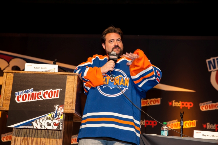 Kevin Smith at New York Comic-Con � 2013 Mark Doyle. All rights reserved.