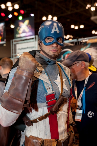 New York Comic-Con � 2013 Mark Doyle. All rights reserved.