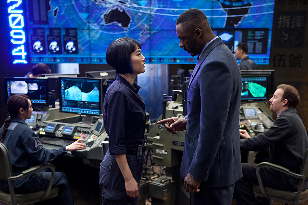 "Idris Elba stars in ""Pacific Rim"""
