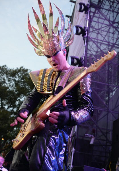 Empire of the Sun - Budweiser Made In America Fest (Day One) - Benjamin Franklin Parkway - Philadelphia, PA - August 31, 2013 - photo by Getty Images � 2013. Courtesy of MSO.