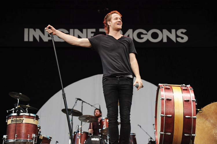 Imagine Dragons - Budweiser Made In America Fest (Day One) - Benjamin Franklin Parkway - Philadelphia, PA - August 31, 2013 - photo by Getty Images � 2013. Courtesy of MSO.