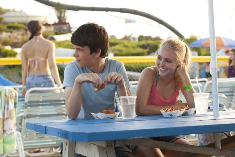 "Liam James and AnnaSophia Robb star in ""The Way Way Back."""
