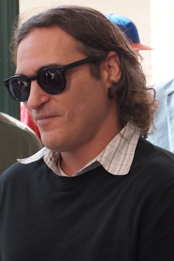 Joaquin Phoenix at the NYFF screening of 'Her.'