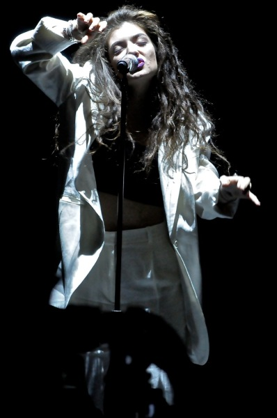 Lorde - Tower Theatre - Upper Darby, PA - March 8, 2014 - photo by Jim Rinaldi � 2014